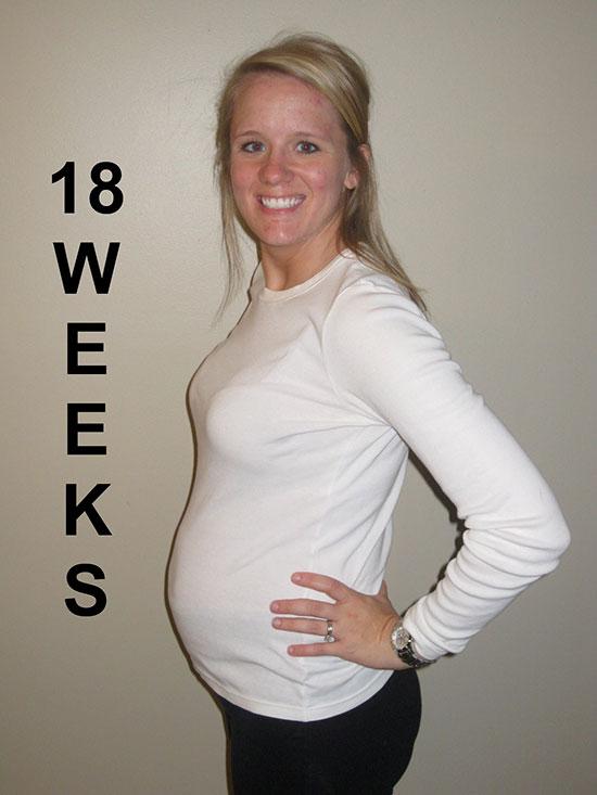 17 18 недель беременности фото