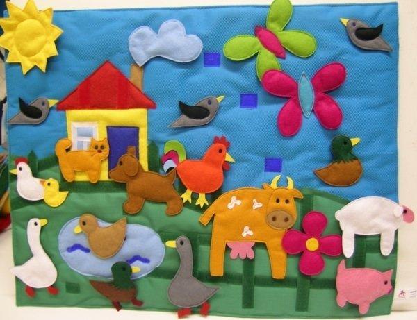 Сшить развивающие коврики для ребенка 350
